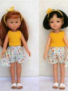 Les Chéries (33 cm), Las Amigas (32 cm)