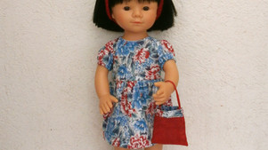 Robe Liberty pour Marieta (35 cm)
