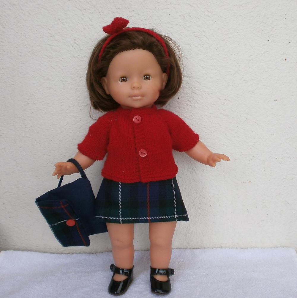 Ma Corolle : tenue d'écolière