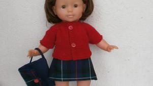 Tenue d'écolière pour poupée Ma Corolle