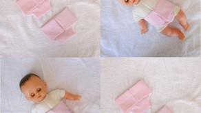 Couches roses pour Petit Câlin 28 cm (uni, pois)