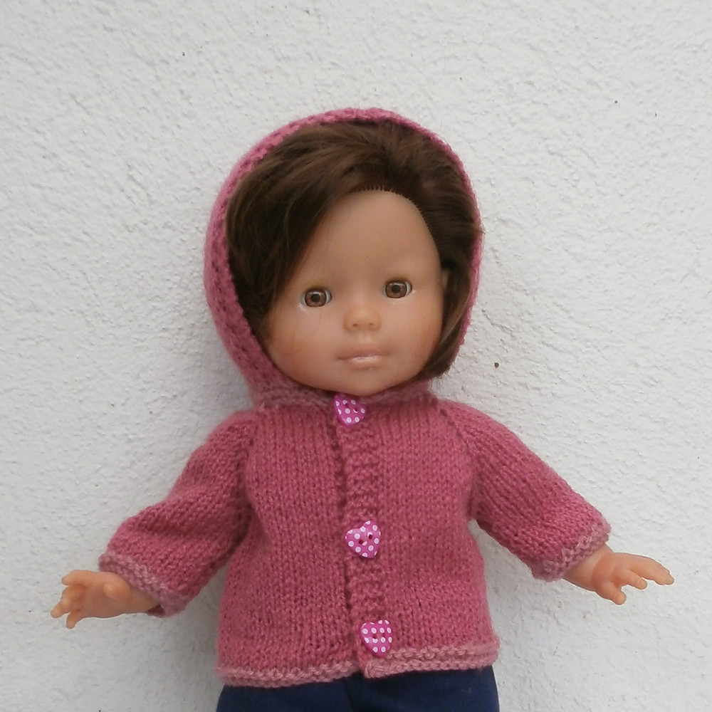 Veste à capuche rose pour Ma Corolle
