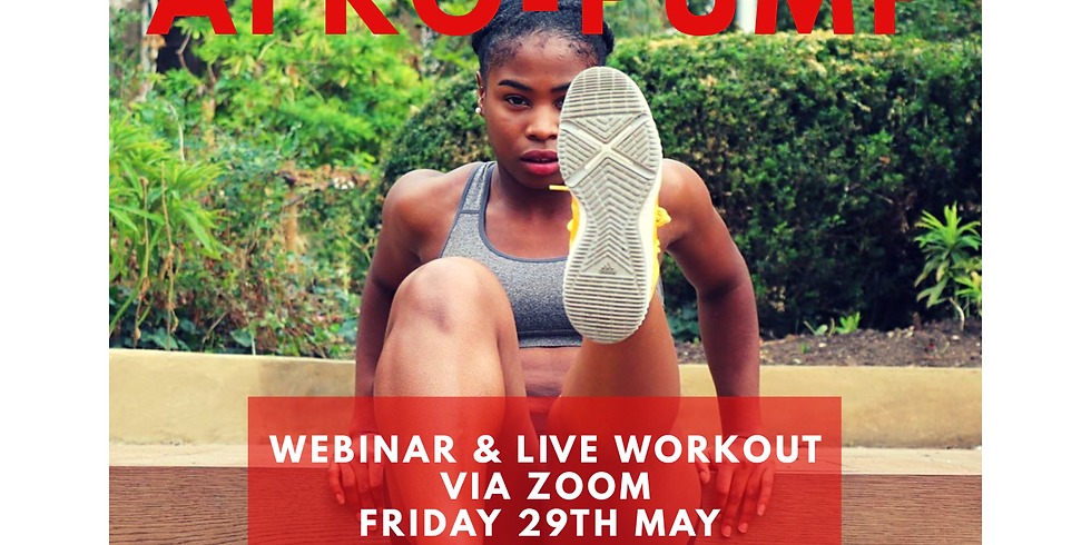 AFRO-PUMP: Mental Health x Fitness Event