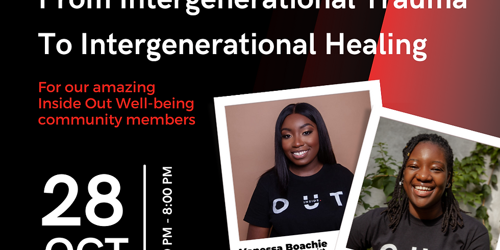 From Intergenerational Trauma to Intergenerational Healing