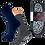 Thumbnail: Home Strumpf mit ABS- Sohle