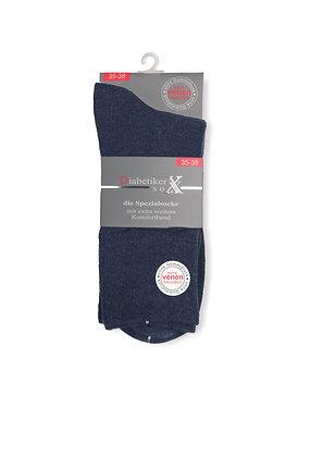 """Damen Diabetiker- Socke """"Jeans"""""""