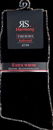 "XL Thermo Strumpf ""Schwarz"""