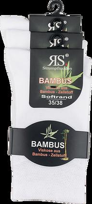 "Harmony Viskose Strumpf ""Bambus Weiß"""
