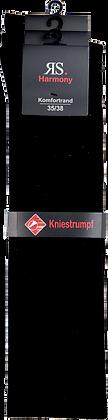 """Extra Kniestrumpf """"Schwarz"""""""