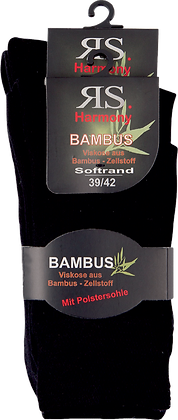 "Harmony Viskose Strumpf ""Bambus mit Polstersohle"""
