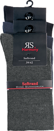 "Harmony Extra Strumpf ""3 Farben"""