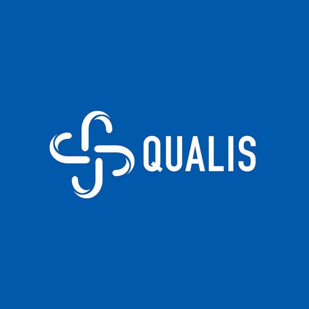 Versione Negativa Logo Qualis