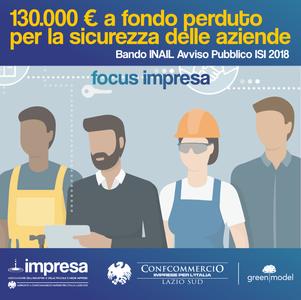 Post Social Focus Impresa Fondo Perduto 2019