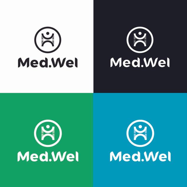 Logo Monocromatico Med.Wel S.R.L. 2019