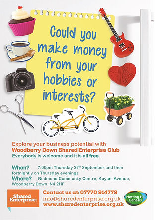 Woodberry Down Shared Enterprise Club po