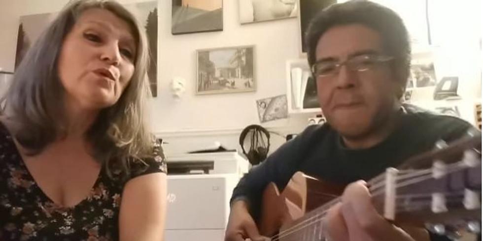 Sommerbeiz im Treibhausgarten - «Duo Mariana Y Moisés Moza»