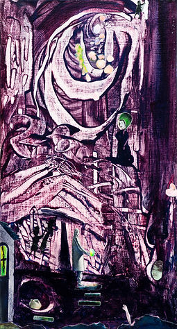 Spirited Treasure- collage, My ART TIFF.