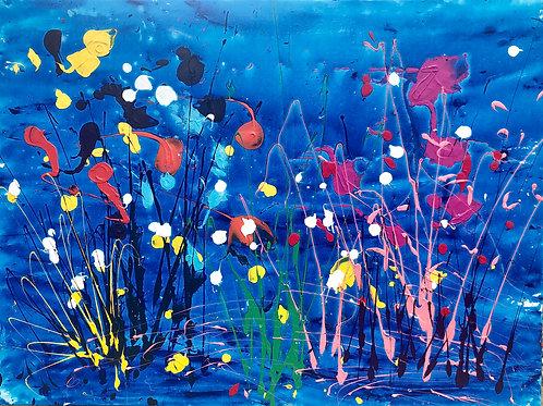 blue splash garden