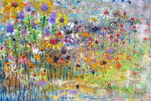 DREAMING OF A GIANT GARDEN 60 BY 48