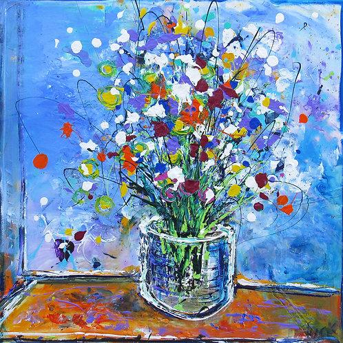 Blue Bast of Flowers