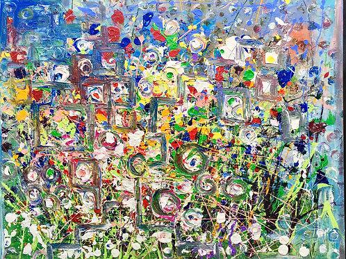 Mega garden abstracted