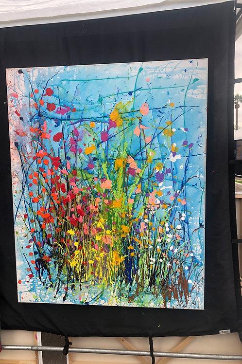 Splash garden 48 x 60