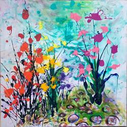 colors of rainbow garden