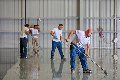 Epoxy resin flooring for business in Nap