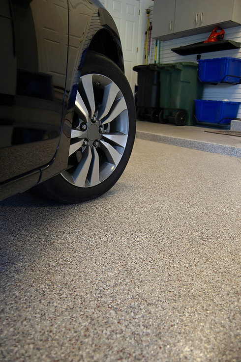 garage epoxy floor resin in naperville.j