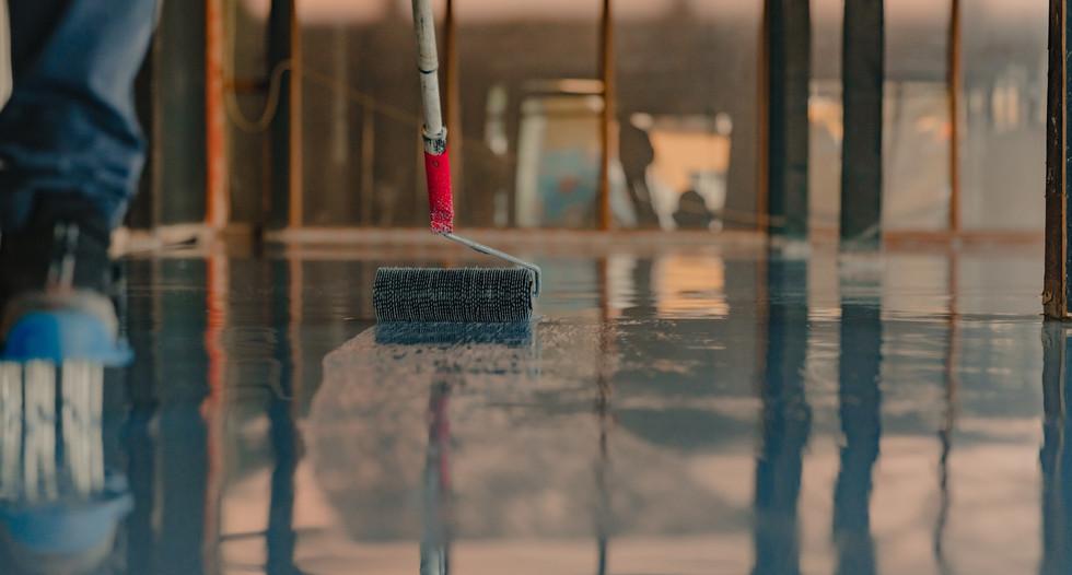 epoxy flooring installtion service in na