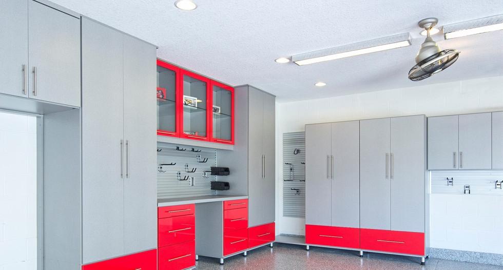 residential epoxy garage floor napervill
