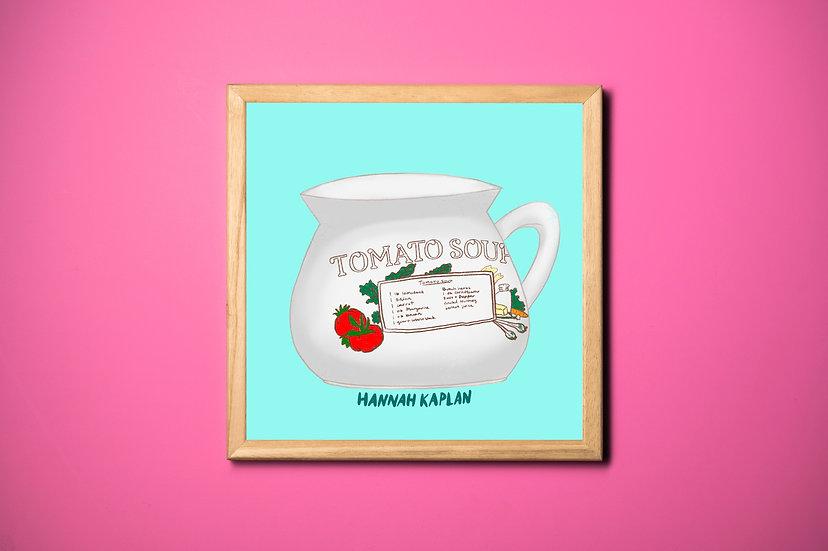 Tomato Soup Print