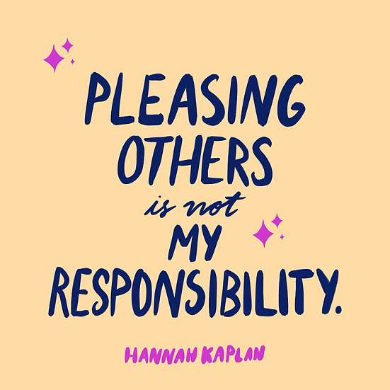 Not My Responsibility Print