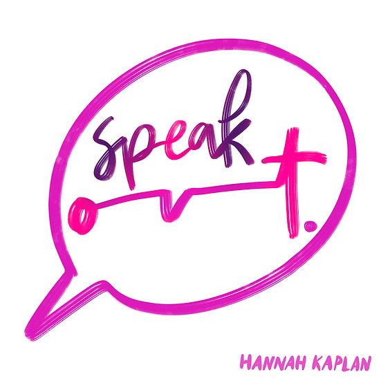 Speak Out Print