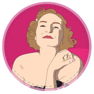 Woman Sticker