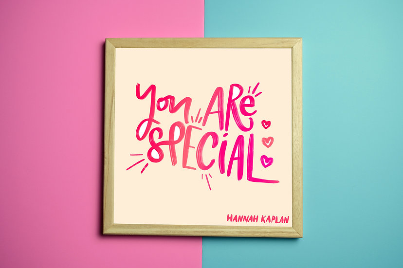 You Are Special Print