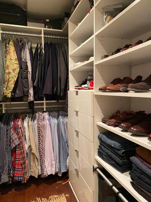 Master Closet Revamp
