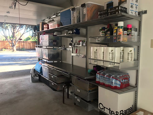 Garage Wall Mount Organization