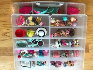 Small Toys organized