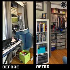 Closet System Tween