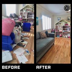 Playroom Decluttered