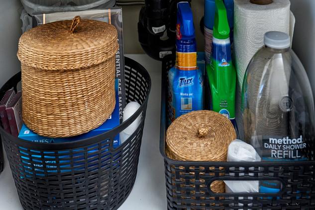 Under the Sink - Organized