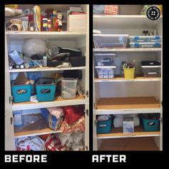 Decluttering closets