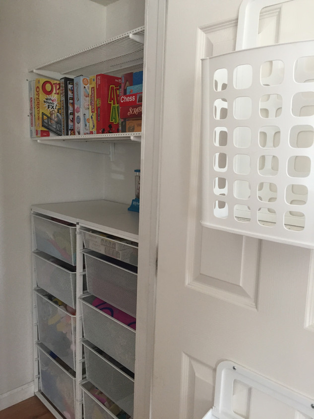 Toy storage in small spaces