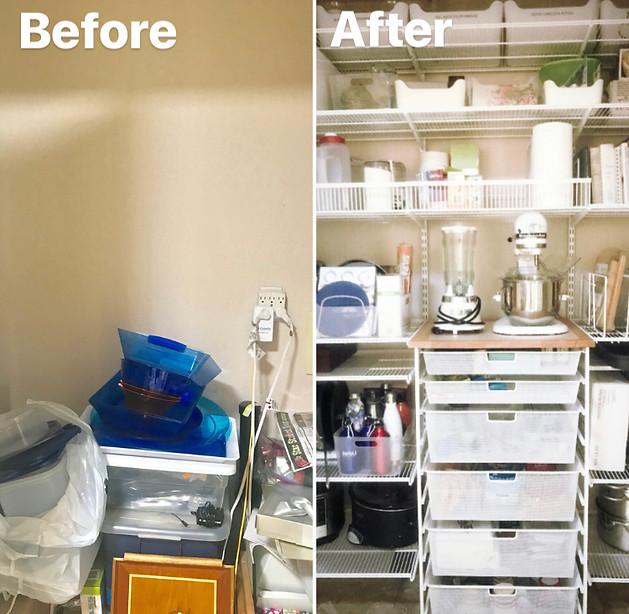 Pantry - Kitchen Organization