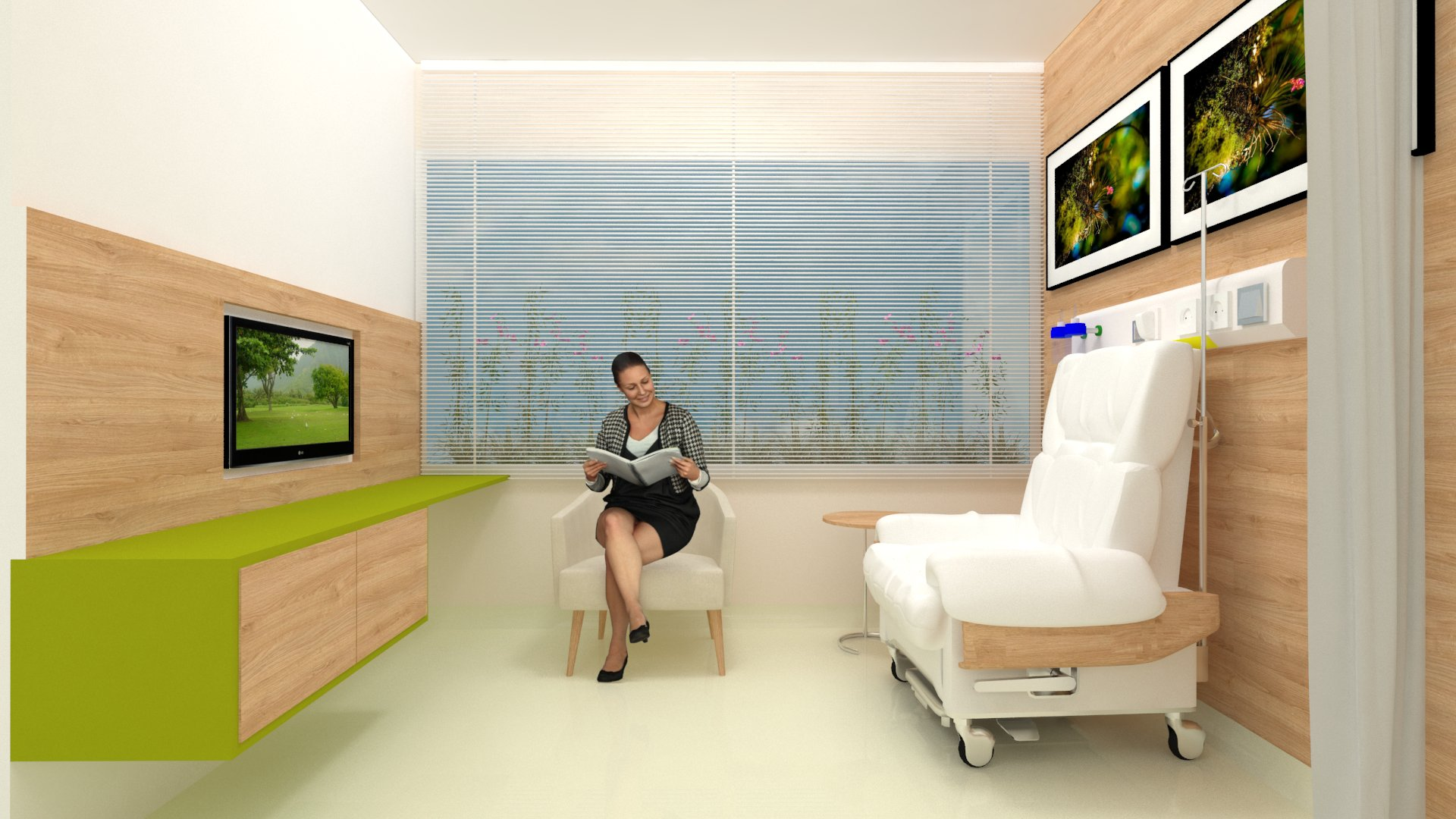 Estudo de baia para quimioterapia