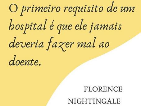 O primeiro requisito de um hospital