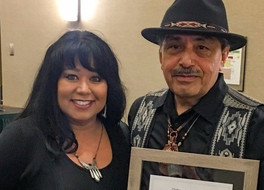 Jerry Tello receives 2017 Distinguished Service Acknowledgement Award.
