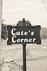 Cate's Corner Front Sign