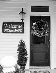 Cate's Corner Front Door
